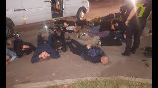 Стрельба на посёлке Котовского задержаны 14 подозреваемых