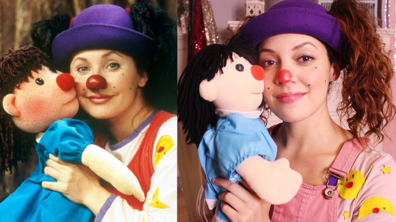 Big Couch Clown Transforming Myself Into Loonette The Clown From The Big Comfy Couch
