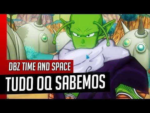 TUDO O QUE SABEMOS - Novo MMORPG Dragon Ball Time And Space Legend