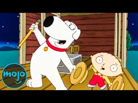 Top 10 Best Stewie And Brian Moments From Family Guy