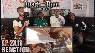 CHARGE! ATTACK ON TITAN 2X11 REACTION/REVIEW