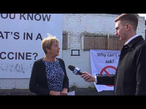 Dr Judy Wilyman - unedited TV interview.