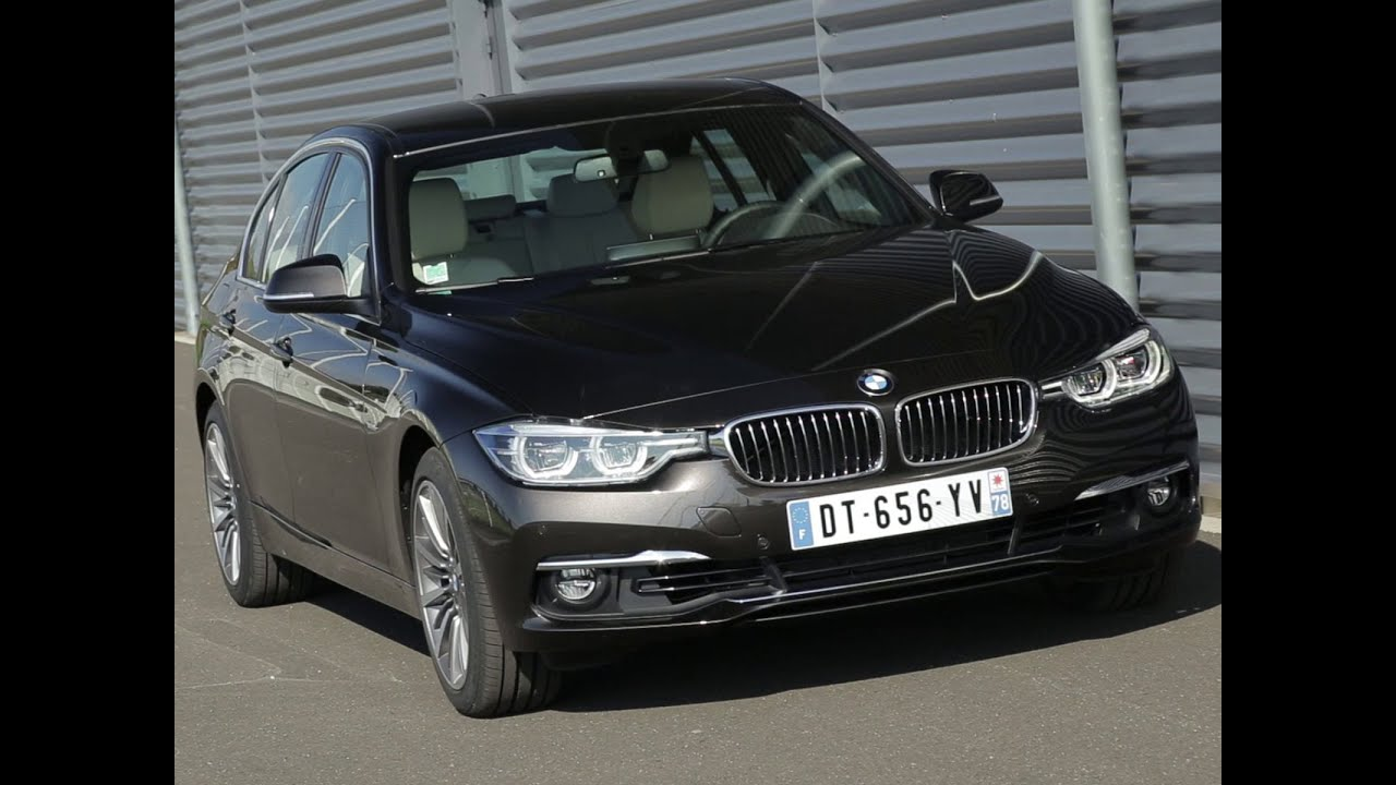 essai bmw s rie 3 320i bva8 luxury 2015 youtube. Black Bedroom Furniture Sets. Home Design Ideas