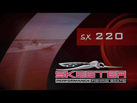 Skeeter SX220 Bay Boat Walkthrough