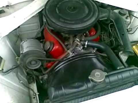 Ford Taunus 17m p7b engine