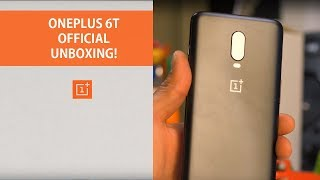 OnePlus 6T Unboxing! Video