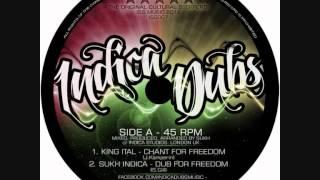 "Indica Dubs - King Ital - Chant For Freedom / Kibir La Amlak - Power Of The Trinity 12"" [ISS007]"