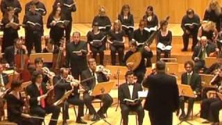"J. S. Bach. Pasión según San Mateo. Parte 1. Nr. 2. Recitativo. ""Da Jesus diese Rede..."""