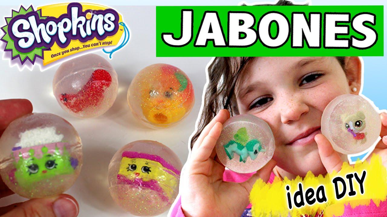 Jabones caseros shopkins ideas diy para regalar youtube for Cosas artesanales para navidad