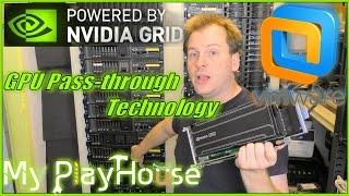 Pass-Through a NVIDIA GRID K1 to VM on ESXi 6.0 - 414