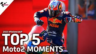 Top 5 Moto2 Moments | 2020 #ValenciaGP