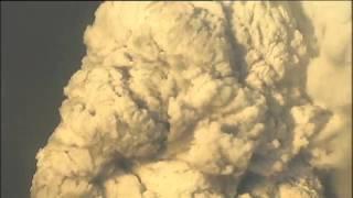 Извержение вулкана Grimsvotn в Исландии 21.05.2011 - День 1