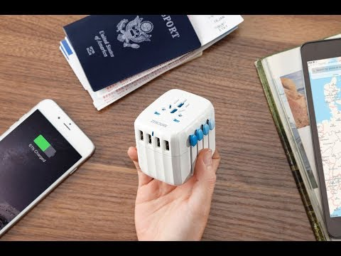 Zendure Passport - The World's First Fail-Safe Global Travel Adapter and Charger