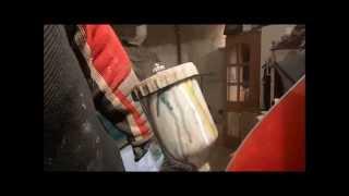 Покраска авто под мрамор (От подписчика)(Видео от подписчика Лебедева Сергея. Показано как можно зделать на лпк эффект мрамора.Окнь прикольно., 2013-12-29T12:31:07.000Z)