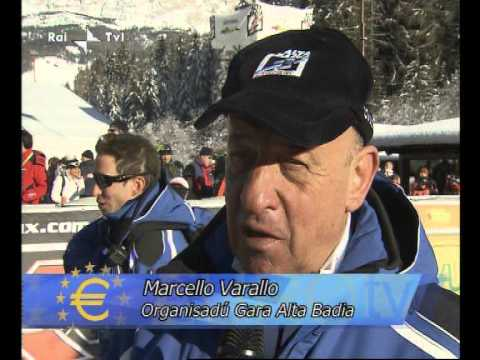 091231 Ski World Cup Gardena Gröden - RAI LAD EuroTV (ladin language)