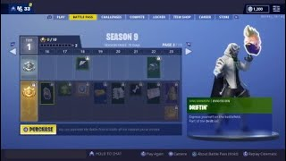 Here's the Season 9! Fortnite Battle Pass Analysis + Game