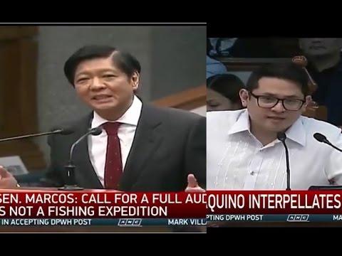 Bongbong Marcos Vs Bam Aquino On Election Irregularities Possible Fraud