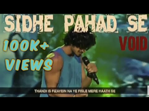 SIDHE PAHAD SE void mtv hustle (OFFICIAL VIDEO)
