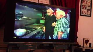 Diners Drive-ins And Dives : Flip Flops Vb Grill.