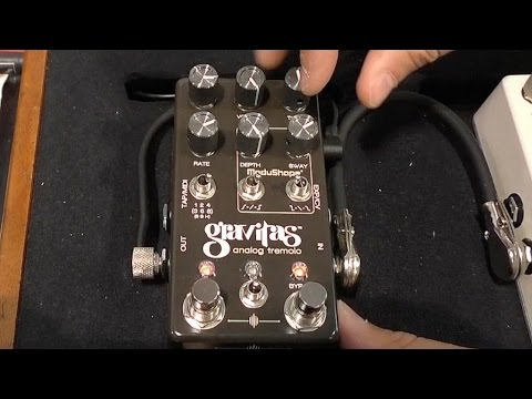 [NAMM] Chase Bliss Audio Gravitas Analog Tremolo