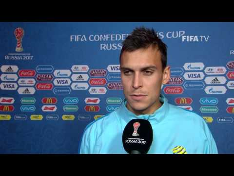 Trent Sainsbury Post-Match Interview - Match 7: Cameroon v Australia - FIFA Confederations Cup 2017