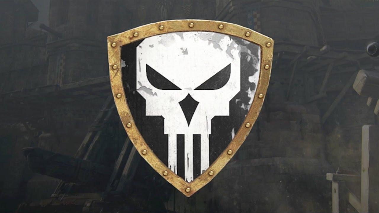 For Honor The Punisher Skull Emblem Tutorial Youtube