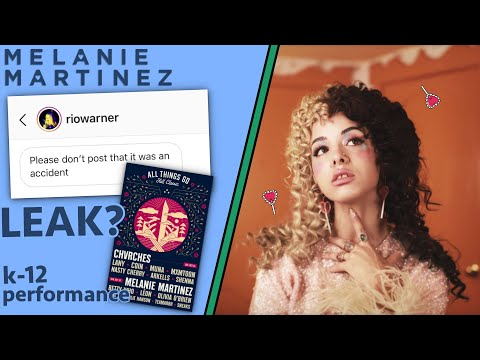 Melanie Martinez Update (leaked k-12 info, leaked pictures, upcoming festival performance and more)