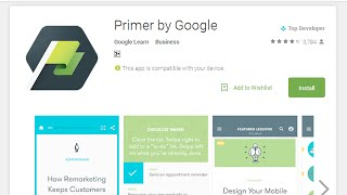 Google Primer - App By Google Learn Team