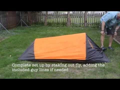Eureka Solitaire Tent Setup & Eureka Solitaire Tent Setup - YouTube