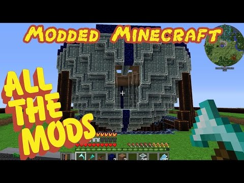 Modded Minecraft: ALL THE MODS! - Ep.65 - Slippery Things