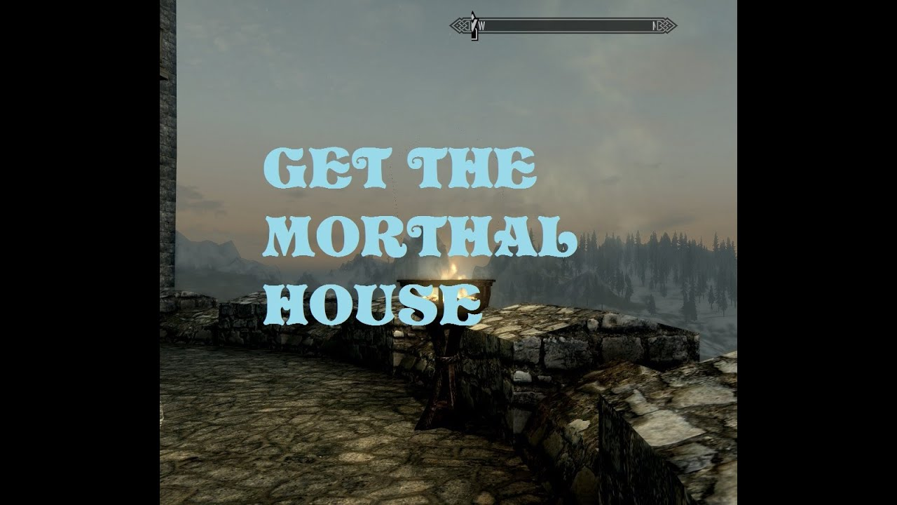 skyrim how to clean house