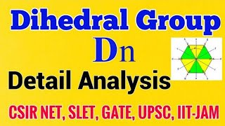 Dihedral group in group theory|order of dihedral group|dihedral group in hindi|dihedral group