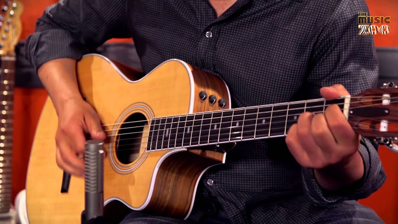 get to know the taylor 412ce n nylon string guitar youtube. Black Bedroom Furniture Sets. Home Design Ideas