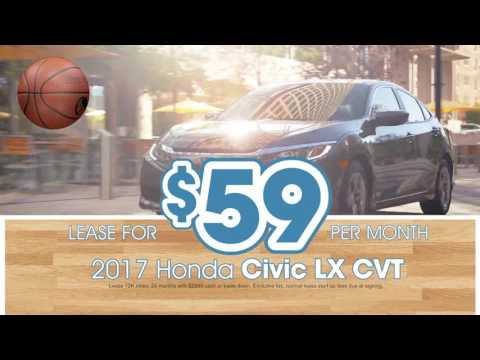 2017 Honda Civic Lease $59/mo.