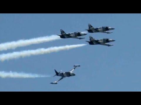 2012 Atlantic City Airshow - Black Diamond Jet Team