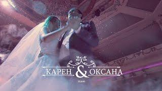Карен и Оксана // Клип в день свадьбы // Армянская свадьба