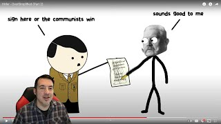 Historian Reaction - Hitler By Oversimplified (Part 2)