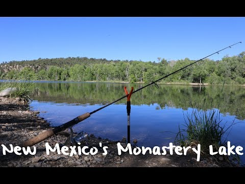 How To Trout Fish New Mexico's Monastery Lake