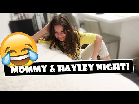 Mommy & Hayley Night 😂 (WK 379.6) | Bratayley