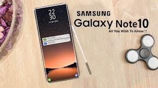 Download Samsung Galaxy Note 10: Release Date, Price, Features & Other Leaks That We Know So Far!!! Mp3 and Videos