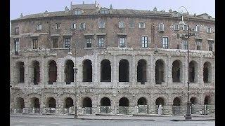 ИТАЛИЯ: Где лучше слушать музыку из фильма Крестный Отец... Театр Марцелла в Риме... ROME ITALY