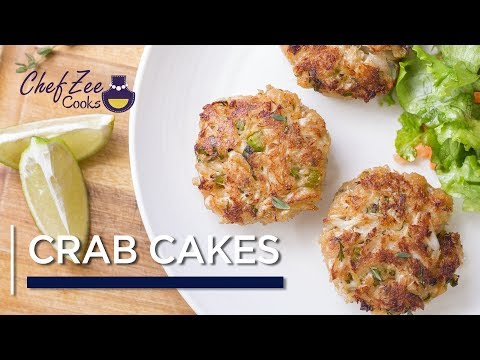 Crab Cakes Recipe | Fish & Seafood | Chef Zee Cooks