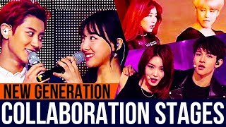 Collaboration Stages Of Kpop Groups/Duos (New Generation) Part 1