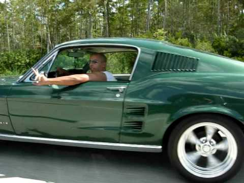 1967 Ford Mustang Fastback On The Road Youtube