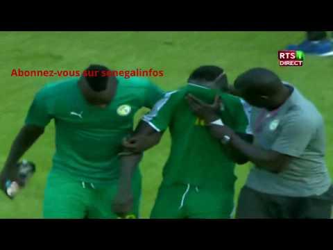Sadio Mané pleure à la fin du Match Senegal Guinée Equatoriale