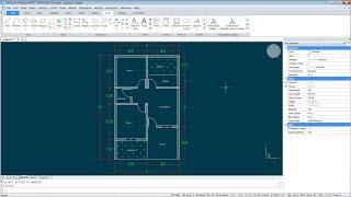 BricsCAD 2D Floor Plan Tutorial For Beginner | Live Streaming