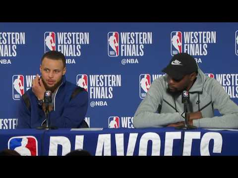 Stephen Curry & Kevin Durant Postgame Interview | Rockets vs Warriors Game 4