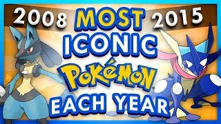 The Most Iconic Pokemon Of Every Year
