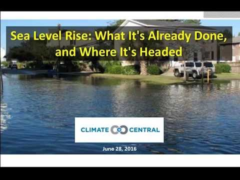Sea Level Rise: What It's Already Done and Where It's Headed