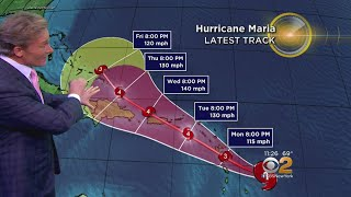 11 P.M. Weather 09.17.17: Tracking The Hurricanes